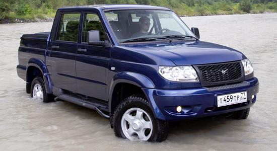 УАЗ Pickup (2008-2014) на IronHorse.ru ©