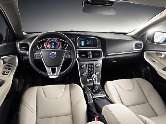 интерьер салона Volvo New V40