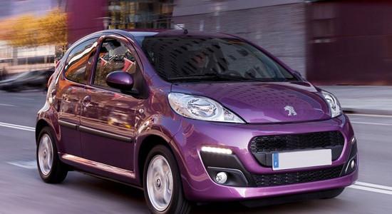 Peugeot 107 на IronHorse.ru ©