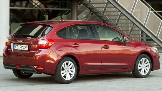 Subaru Impreza 4 (GP) Hatchback