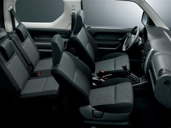 интерьер салона Suzuki Jimny III