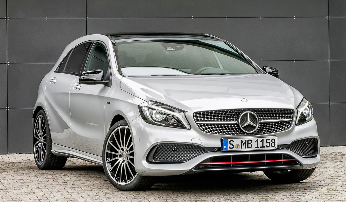 Mercedes benz a class 2012 2018 for Mercedes benz iron