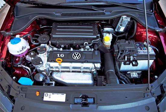 двигатель седана Volkswagen Polo