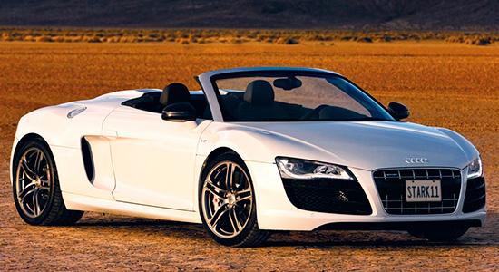 Audi R8 Spyder 2009