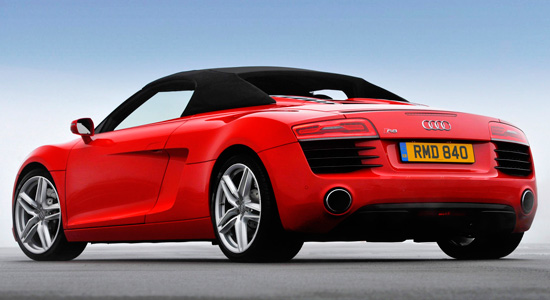 Audi R8 Spyder 2012