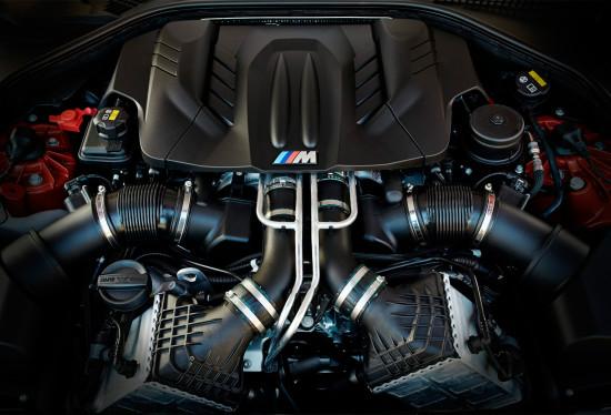под капотом BMW M6 Coupe (F13)