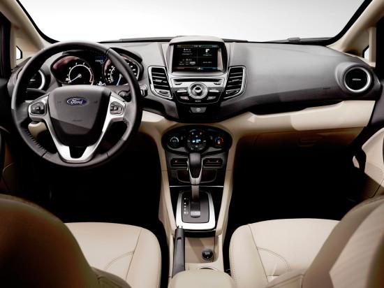 интерьер Ford Fiesta 6 2013-2016
