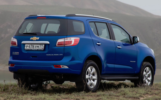 Chevrolet Trailblazer II (2012-2016)