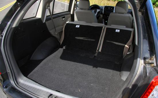 багажное отделение Lifan X60