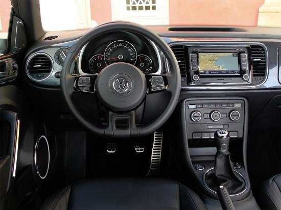 интерьер VW Beetle 3