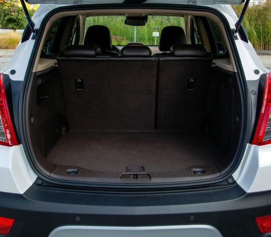 багажный отсек Opel Mokka 1