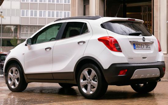 Opel Mokka 2012-2015 годов