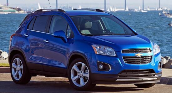 Chevrolet Tracker (2012-2016) на IronHorse.ru ©
