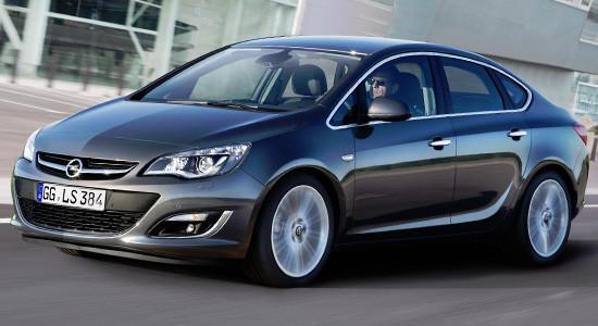 Opel Astra J (седан) на IronHorse.ru ©
