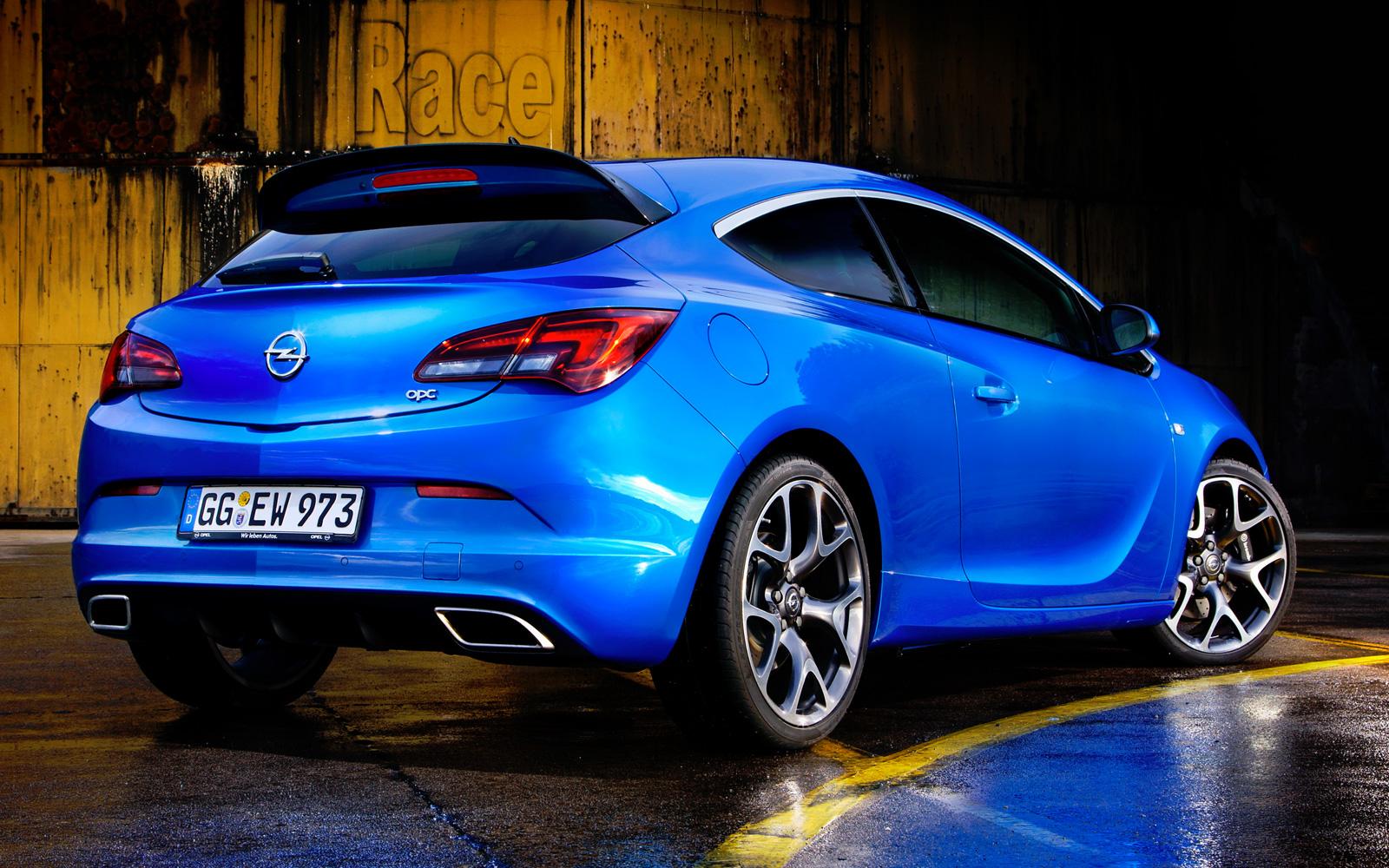 Opel astra opc 2017