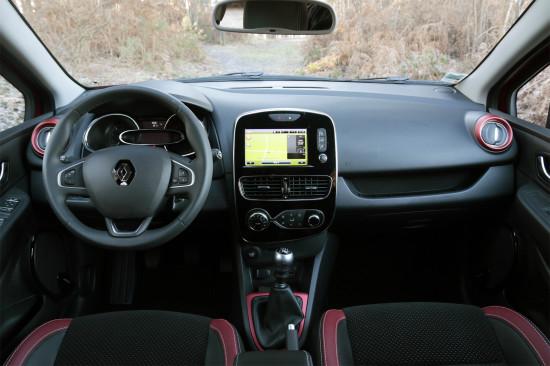интерьер Renault Clio 4-го поколения