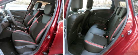 компоновка салона Renault Clio IV