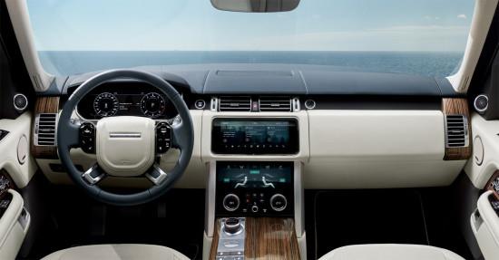 интерьер салона  Range Rover 4 (L405)