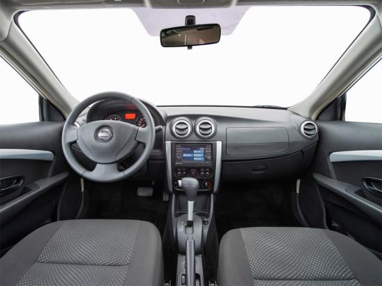 интерьер салона Nissan Almera АвтоВАЗ