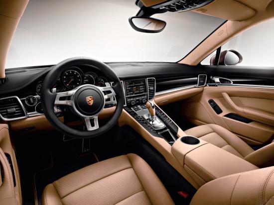 интерьер салона Porsche Panamera Platinum Edition