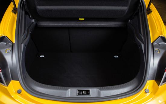 багажное отделение Renault Megane 3 RS