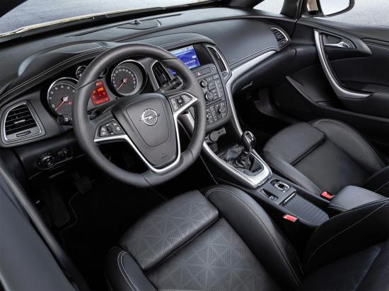интерьер салона Opel Cascada
