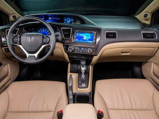 интерьер салона Honda Civic 9
