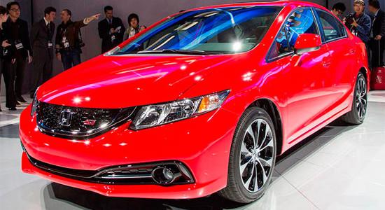 Honda Civic 4D (2012-2015) на IronHorse.ru ©
