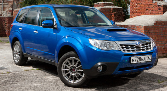 Subaru Forester 3 (2008-2013) на IronHorse.ru ©