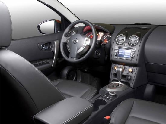 интерьер салона Nissan Qashqai 1