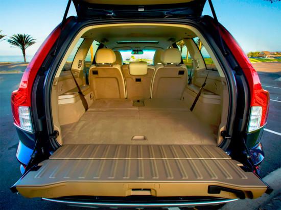 багажный отсек Volvo XC90