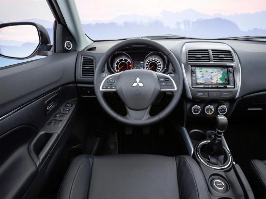 интерьер Mitsubishi ASX 2010-2015
