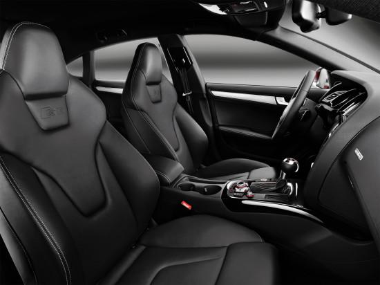передние кресла Audi S5 Sportback