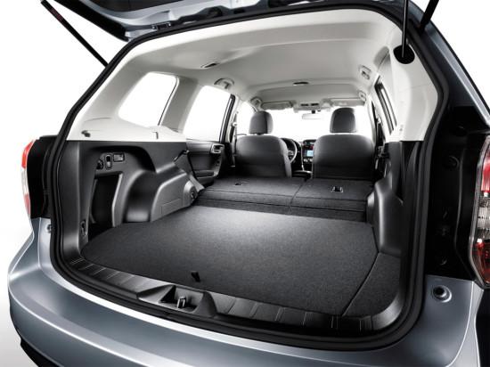 багажное отделение Subaru Forester SJ