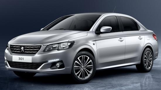 Peugeot 301 2017 модельного года