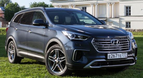 Hyundai Grand Santa Fe (2017-2018) на IronHorse.ru ©