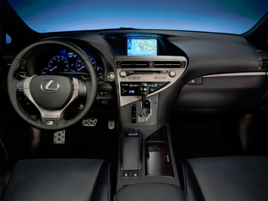интерьер Lexus RX 270