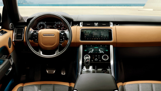 интерьер салона Range Rover Sport (L494)