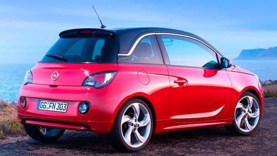 Opel Adam 2014-2015
