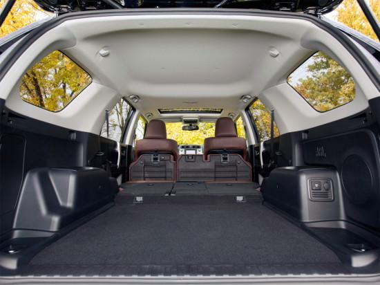 багажное отделение Toyota 4Runner 5-го поколения