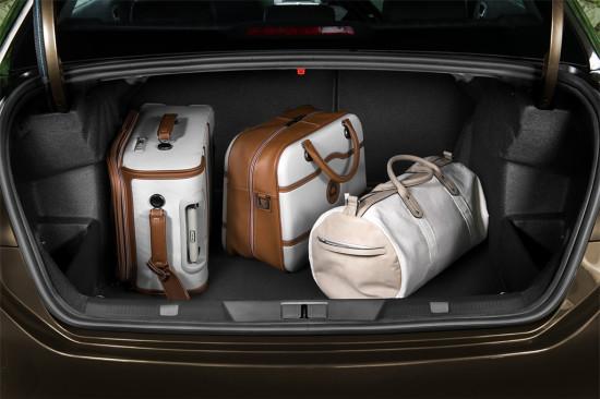 багажное отделение седана Ситроен С4
