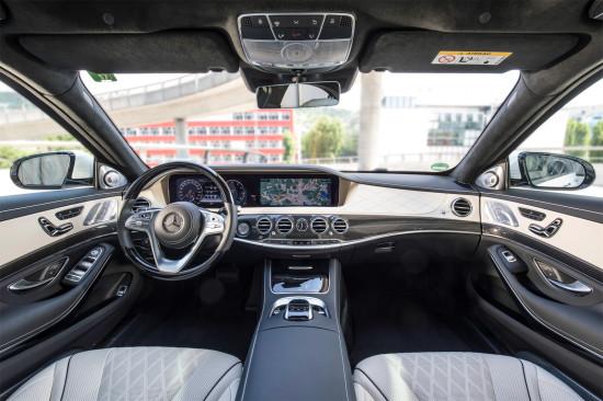 интерьер салона Mercedes-Benz S-Class (V222)