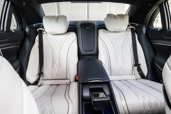 задний диван Mercedes-Benz S-Class (V222)