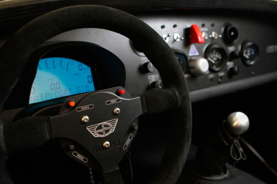 интерьер салона Donkervoort D8 GTO