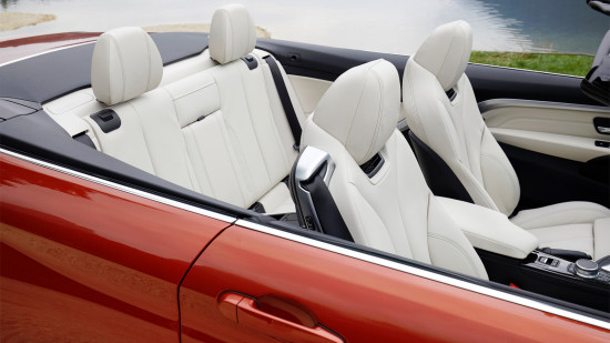 интерьер кабриолета BMW 4-series (F33)