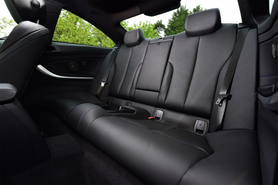 интерьер салона BMW 4-series (F32)