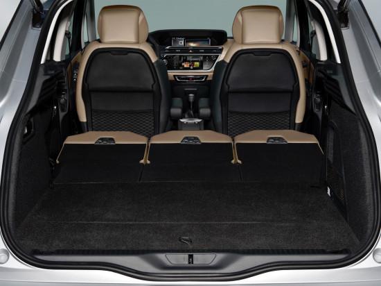 багажное отделение Citroen C4 Picasso II