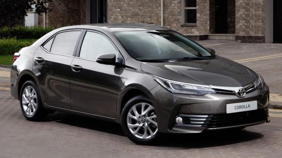 Toyota Corolla 2017 (E170)