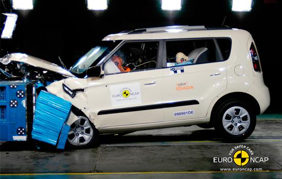 Краш-тест Kia Soul 1 (EuroNCAP)