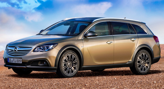 Opel Insignia Country Tourer (2013-2016) на IronHorse.ru ©